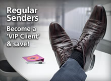 Regular Senders - Become a VIP Client and save!